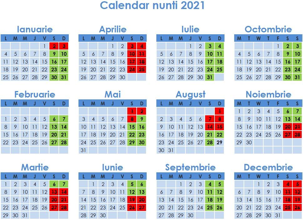 calendar-2021-cand-nu-se-fac-nunti