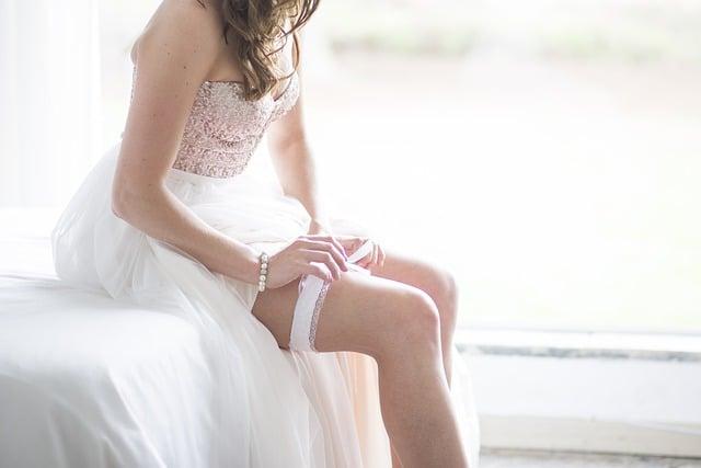 Jartiera mireasa - obiceiuri de nunta