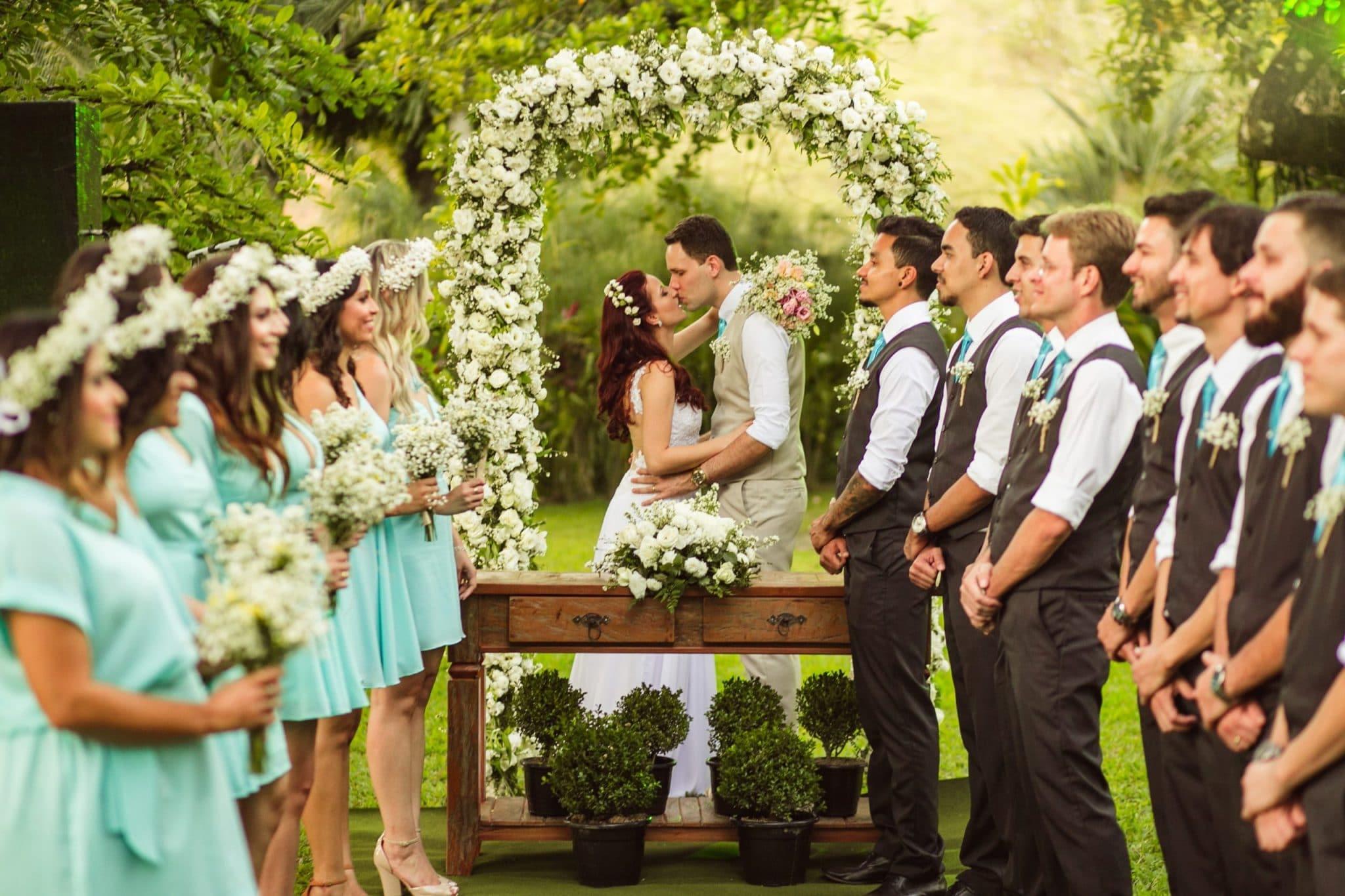 Nunta de vis in aer liber