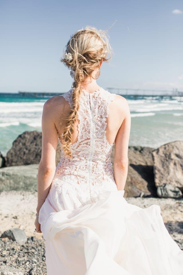 Parul lung - model de coafura pentru nunta